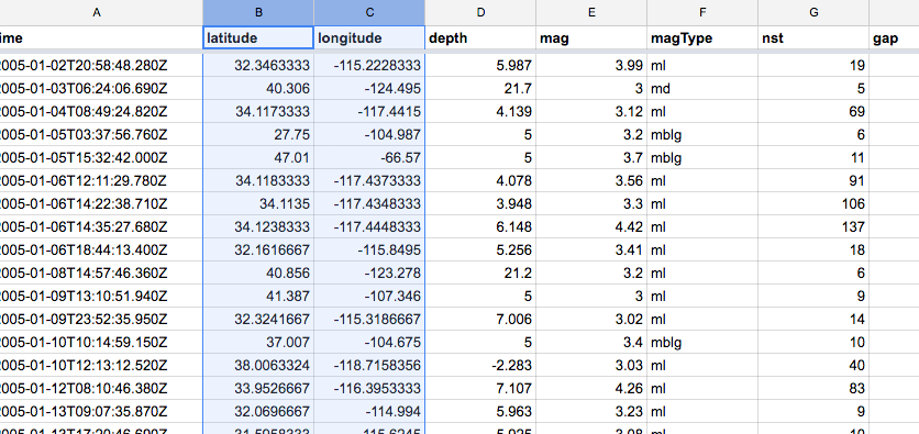 quakes-spreadsheet-obv-geospatial.png