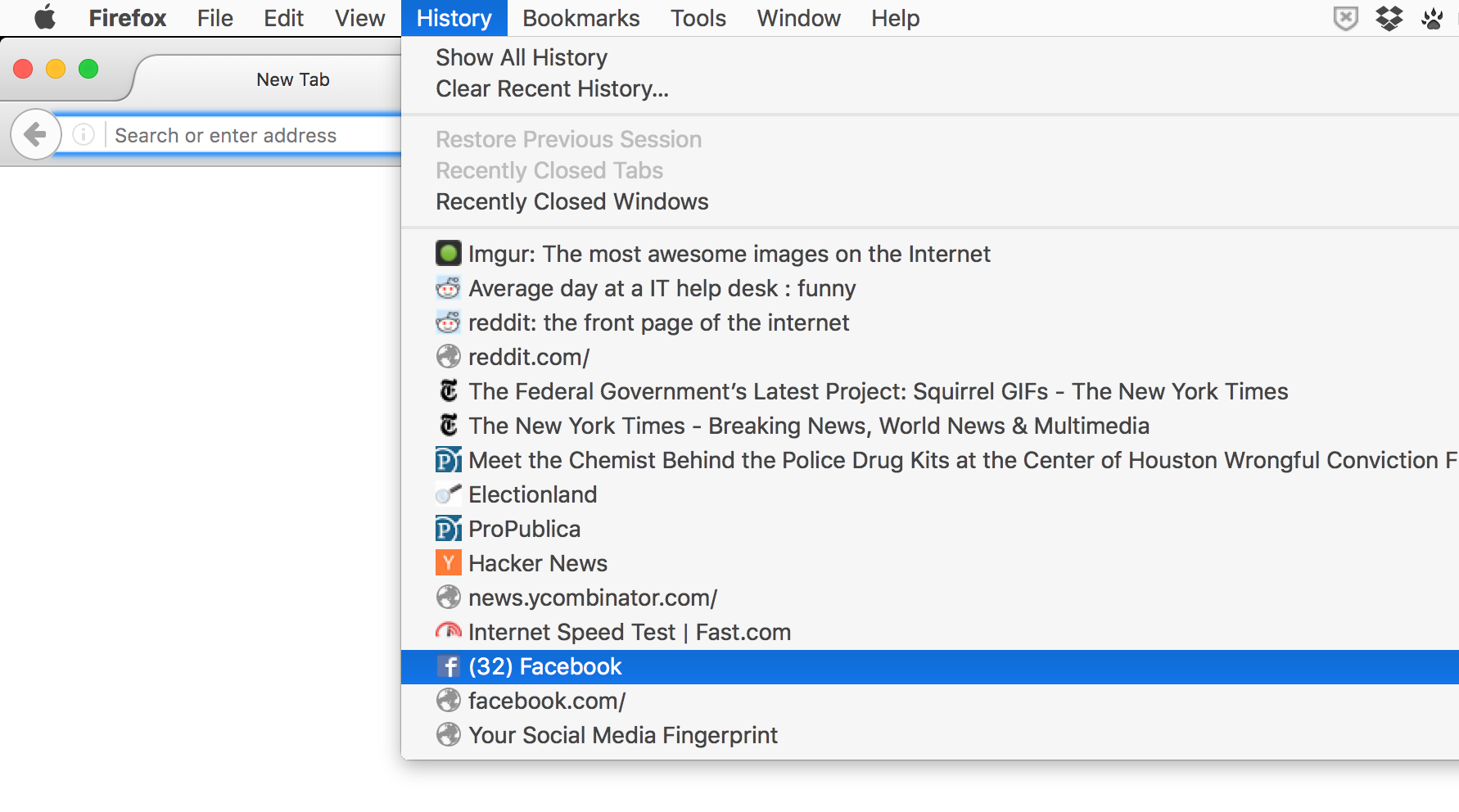 Reading Your Browser's History with SQLite | Public Affairs Data